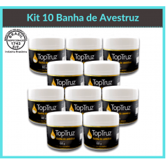 Kit 10 Banha de Avestruz