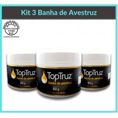 Kit 3 Banha de Avestruz